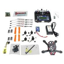 F16895-C JMT CC3D 150mm Mini RC Quadopter 3100KV Motor + OPTO 16A ESC + Flysky 6CH Transmitter +1000MAH Battery DIY FPV Drone