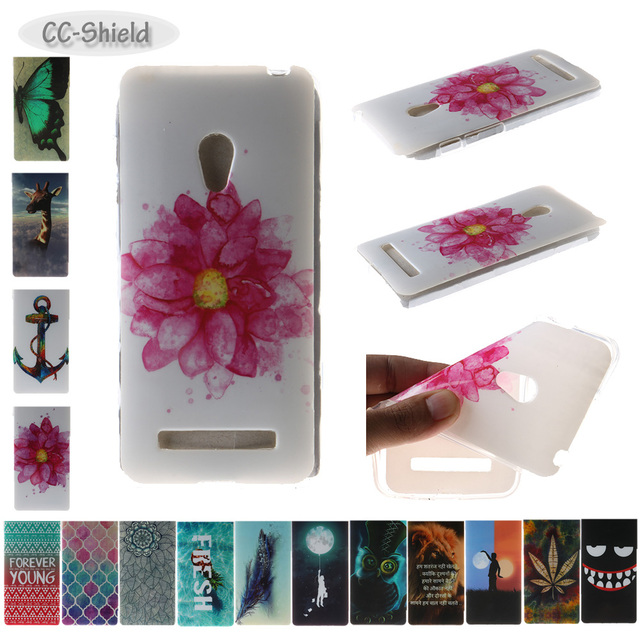TPU Soft Fitted Case for ASUS ZenFone 5 zenfone5 A500KL T00P T00F T00J ASUS_T00P ASUS_T00F ASUS_T00J Painting IMD phone case