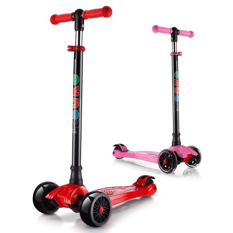 roller skates 4 wheels kick scooter children roller. Black Bedroom Furniture Sets. Home Design Ideas