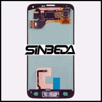 Sinbeda Super Amoled HD LCD Display Touch Screen Digitizer Assembly Replacement For Samsung Galaxy S5 I9600