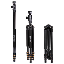 Zomei Z688 Professional Portable Camera Tripod With Ball Head Monopod For Phone DSLR Photography Travel Photo Tripode