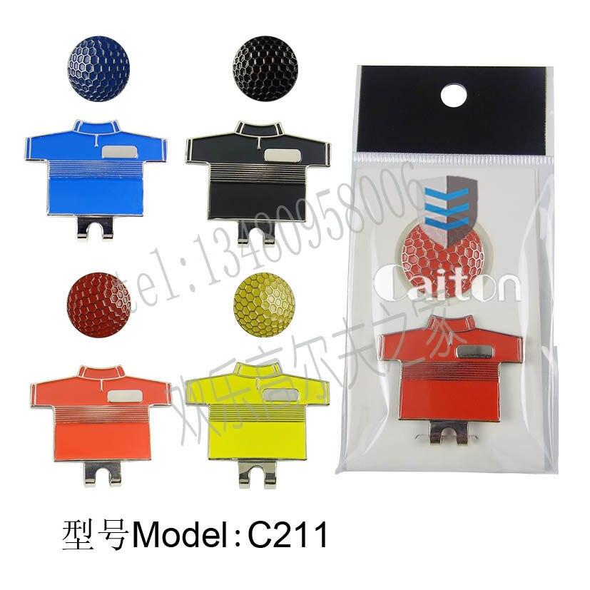 Marcador de Pelota de Golf y Golf Clip caliente (ropa de diseño) de Calidad supe