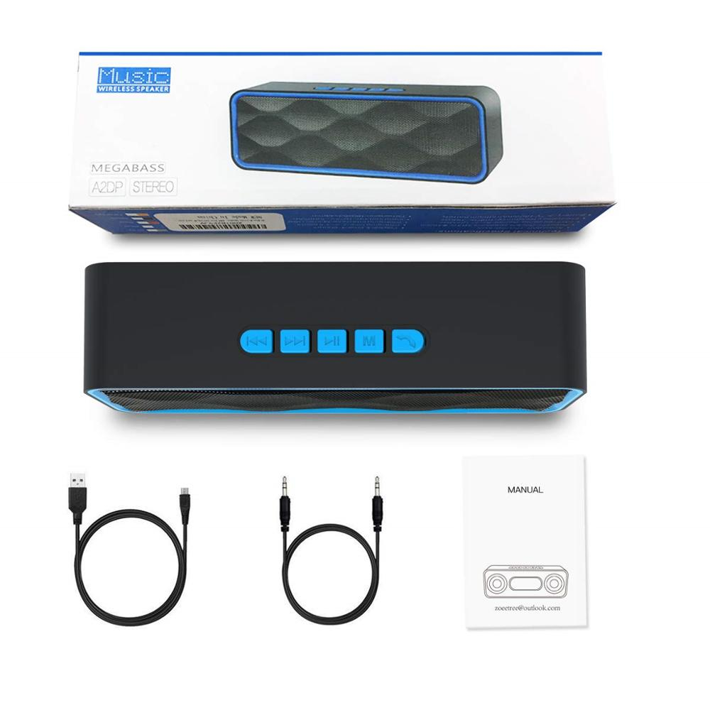wireless speaker portable bluetooth speaker Loudspeaker Sound System stereo Music surround outdoor S1 FM radio Pakistan