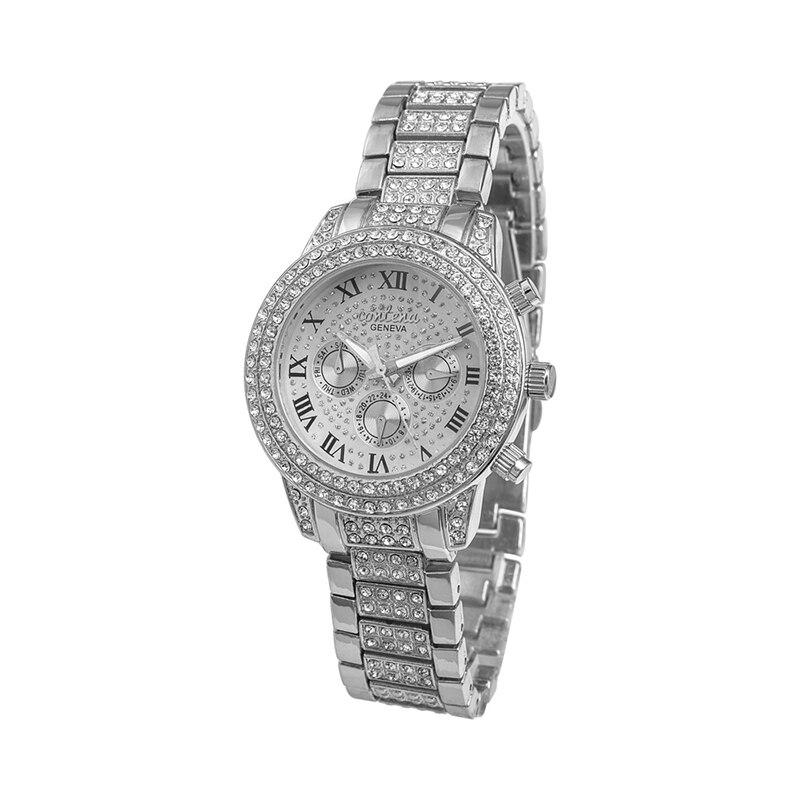 Prix pour CONTENA Mode de Montre Femmes Montres Strass Femmes Montres Dames Montre Horloge saat montre femme relogio feminino reloj mujer