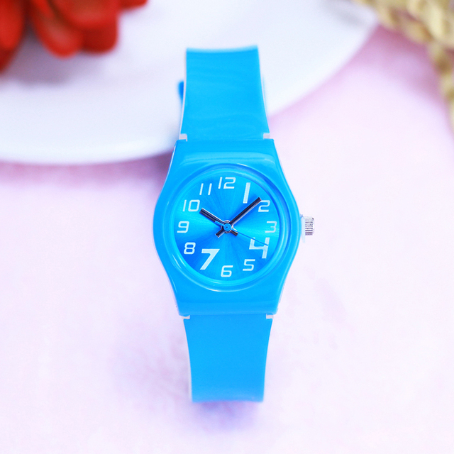 2018 new products children girls boys fashion colorful quartz watches kids stude