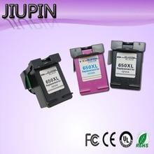 JIUPIN 3pc 650XL Compatible Ink Cartridge for HP650 HP Deskjet Advantage 1015 1515 2515 2545 2645 3515 printer
