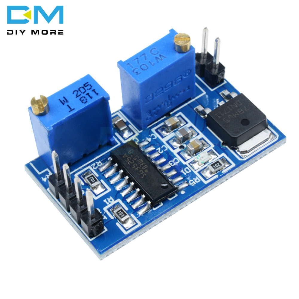 DC 5V 12V SG3525 PWM Controller Module 100HZ-100KHZ Adjustable Frequency Control Board Diy Electronic