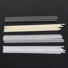 50pcs/set Plastic Welding Rods Bumper Repair ABS/PP/PVC/PE Sticks Welder Soldering Supplies