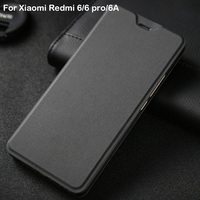 Xiaomi Redmi 6 Case Redmi 6 Pro Flip Cover leather Plastic Protective Case Capas Coque Apises Original Xiaomi Redmi 6A Case