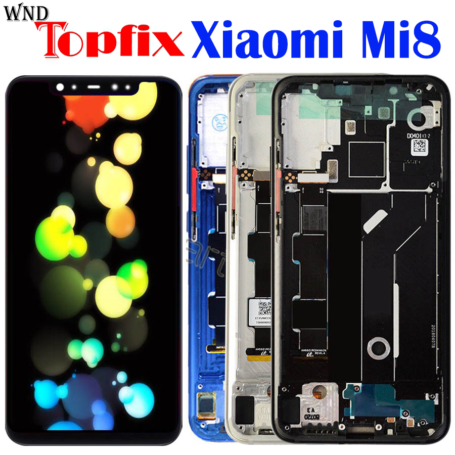 Amoled Screen Xiaomi Mi 8 LCD MI 8 Explorer Display Digitizer Assembly Touch Screen Replacement 6.21 Xiaomi Mi8 LCD Mi 8 SE LCDAmoled Screen Xiaomi Mi 8 LCD MI 8 Explorer Display Digitizer Assembly Touch Screen Replacement 6.21 Xiaomi Mi8 LCD Mi 8 SE LCD