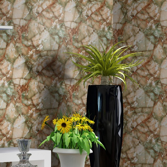 US $40.38 36% di SCONTO Beibehang piastrelle modello di pietra mattoni  carta da parati per le pareti 3D Carta Da parati In Vinile Della  Decorazione ...