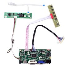 "HDMI VGA DVI Controller Board For 21.5"" 23"" 1920x1080 LM230WF3-SLB2 LC230EUE-TDA1 LM215WF4-TLE9 LCD Screen(China)"