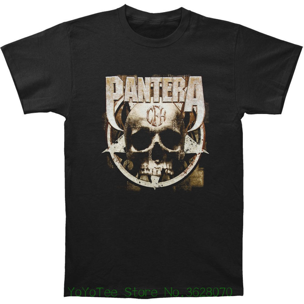 Funny Tee Shirt Hipster Summer Pantera Men&#039 ; S Cow Boys From Hell T-shirt Black