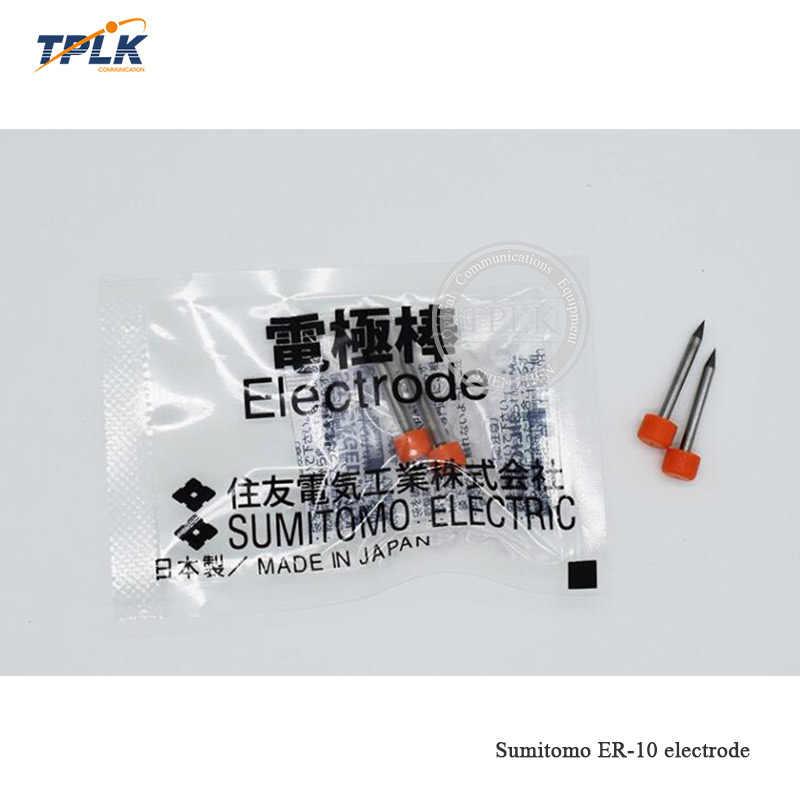 1 par ER-10 electrodos T81C T-71C T-71M T-600c Q101 ER-10 T71c Z1C type-81C de fibra óptica empalmador de fusión envío gratis