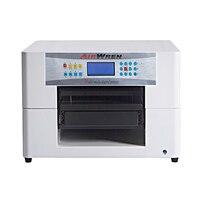 Высокой четкости A3 Футболка логотип печатная машина с 3D эффект dtg принтера