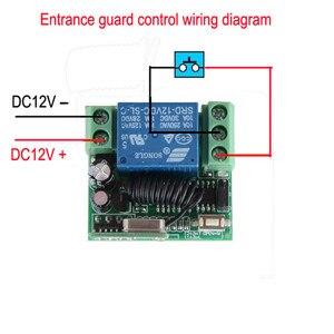 Image 5 - DC 12V 10A 1CH bezprzewodowy rf pilot zdalnego sterowania przełącznik 2 sztuk nadajnik z baterią + odbiornik dostęp/System drzwi 20 sztuk/partia