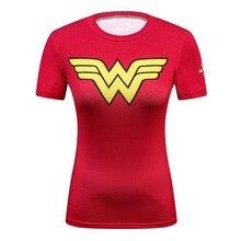 2018 Star Wars Cool Avengers Superhero Superman Captain America Casual T Shirt Women Compression Bodybuilding Shirt