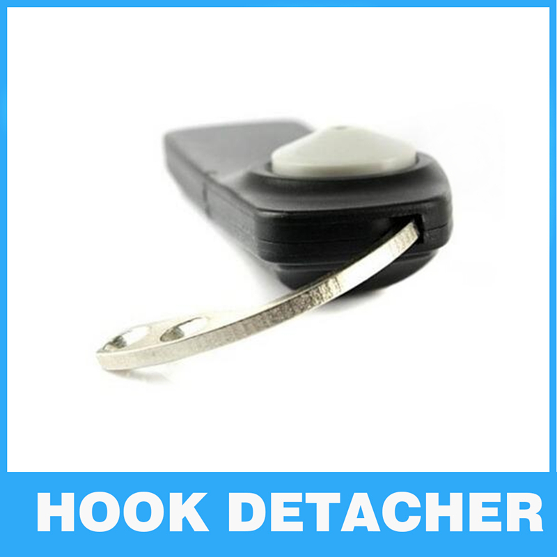 Portable Security Tag Remover EAS system Detacher Key Hook Mini handle eas hook Supermarket Security alarm for hard tag remover