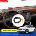 Car-styling Anti-Noise Soundproof Dustproof Car Dashboard Windshield Sealing Strip Accessories For Citroen C3 Aircross 2017-2019