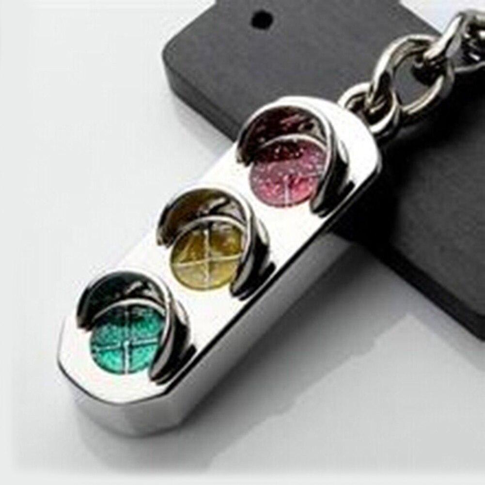 Mini feu de circulation voiture porte-clés chaîne sac à main sac porte-clés accessoire mode cadeau