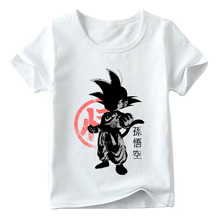 Children Japan Anime Dragon Ball Z Role Goku T shirt Baby Boys/Girls Summer Top Short Sleeve shirts Kids Casual Clothes YUDIE