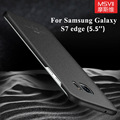 For Samsung Galaxy S7 edge case Luxury Slim MSVII Brand For samsung galaxy s7 cover hard PC scrub cases For galaxy s7 edge cases