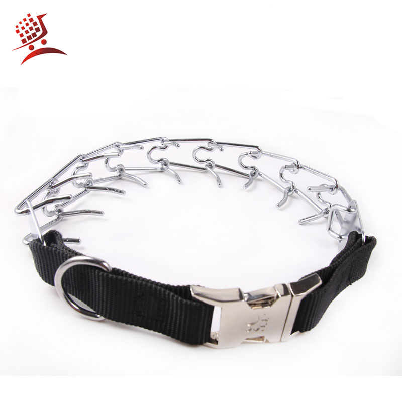 Pet Accessories Supply Professional Martingale Dog Training Collar Half Choke Chain Pet Walking Collars Ultra-Plus 4 mm