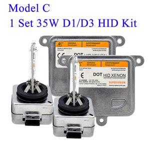 Image 4 - SKYJOYCE Original 35W Xenon D1S HID Xenon Kit D1S 4300K 5000K D3S 6000K D1R D3R HID Bulb 35W Car Headlight Ballast Kit Xenon D1S