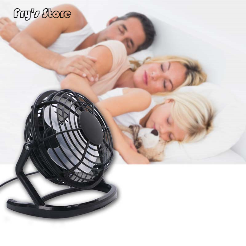 Fry's Store <font><b>Mini</b></font> <font><b>Portable</b></font> Super Mute USB Fan Desk Cooling Laptop Notebook PC Fan <font><b>Cooler</b></font> for Dropshipping image
