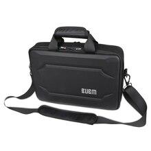 BUBM EVA Koffer Laptop-tasche Air 13 Laptop Business Anti Druck Mode Schulter Handtasche Schwarz