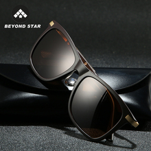 BEYONDSTAR New TR90 Mens Sunglasses Polarised Brand Designer