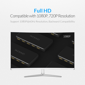 Image 5 - Unnlink 4x1 HDMI Quad Multi viewer HDMI Seamless Switcher FHD 1080P@60Hz for tv box nintend switch ps4 xbox computer projector
