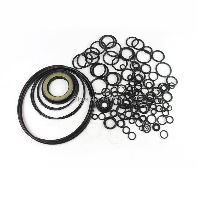 Pour Hitachi ZX210-1 Kit de Service de réparation de joint de pompe hydraulique joints d'huile d'excavatrice, garantie de 3 mois