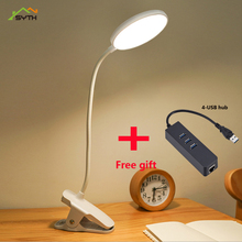 Flexo Table Lamp Led Desk Touch Clip Study Lamps  Desktop usb Light led table lamp lampen modern