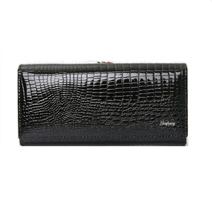 Image 5 - Echtes leder brieftasche frauen alligator lange kupplung handtasche kuh leder weibliche brieftaschen berühmte designer frauen geldbörsen