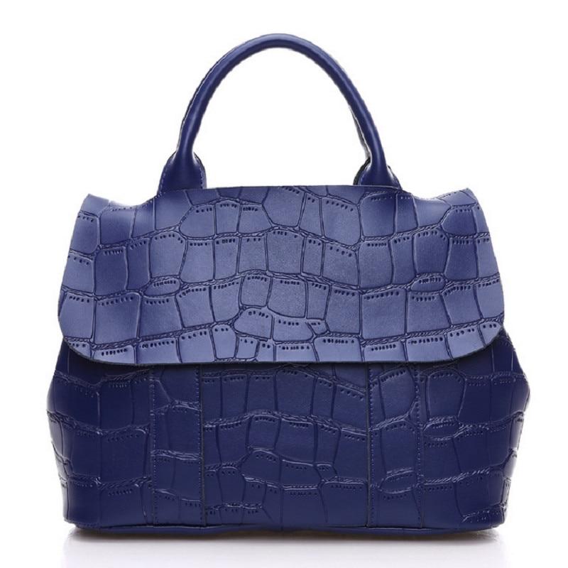 Women Bag Genuine Leather Luxury Handbag 100% Cow Leather Female Shoulder Bag Bolsa Feminina Elegant Messenger Casual Tote