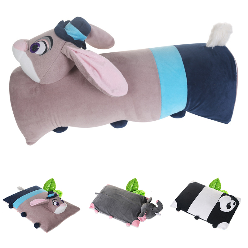 Puppy Dog 100/% Natural Latex Pillow with Case Foldable Pillow Toy Pillow Pets