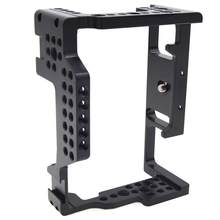 None Camera Cage for Sony A7II/A7III/A7SII/A7M3/A7RII With cold shoe mount Aluminum Alloy Camera Cage Video Stabilizer(China)