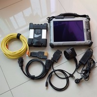 For bmw icom next ssd 2019.07 newest software ista d 4.17 ista p 3.66 with laptop ix 104 i7 4g diagnostic tool ready to use