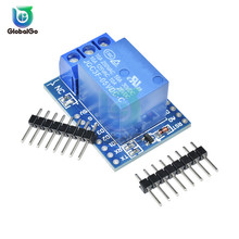 DC 5V 1 One Channel For WeMos D1 Mini Relay Shield for Arduino ESP8266 Development Board Power Supply Control Module