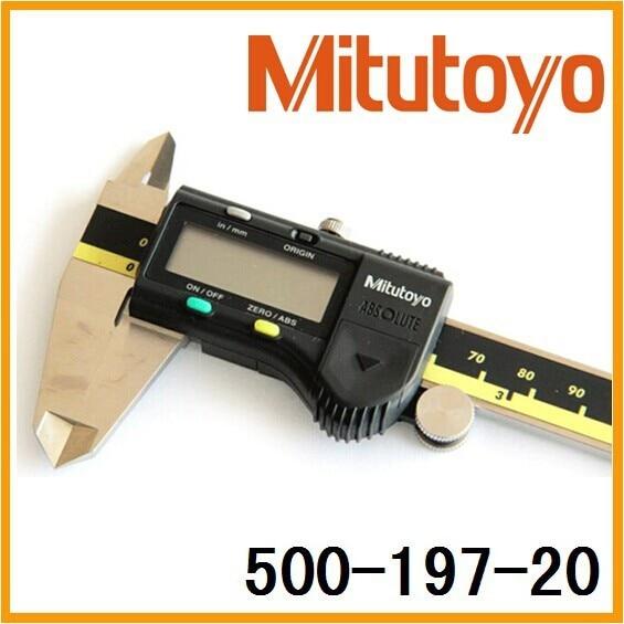 Mitutoyo Digimatic Sattel 500-197-20