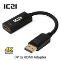 ICZI DisplayPort Display Port DP для HDMI Адаптер DP к HDMI Кабель для Macbook Chromebook Pixel Surface Pro Телевизоры Мониторы и т. д.