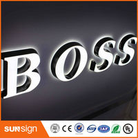 Factory Price Advertising Signs Type LED Acrylic Alphabet Letter