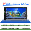 7'' 2 Din Car Stereo DVD Player GPS Navigation Support Front and Rear View Camera Bluetooth/GPS/USB/SD/MP3/FM/AUX-IN/MP4 Player