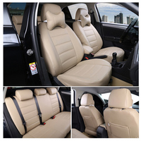 Customized Car Seat Covers Leather Four Seasons General For Buick Regal Lacrosse Excelle PARK AVENUE Enclave Car styling