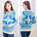 Maternity Nursing top Winter Long Sleeve Cotton Breastfeeding and Nursing Top for Pregnant women