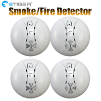 Hot Selling Wireless Smoke Detector Fire Alarm Sensor ES D5A