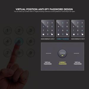Image 3 - シャーロックパスワードドアロックデジタル電気スマートロックbluetoothアプリ電話制御G1 ロックオフィスガラスドアなど