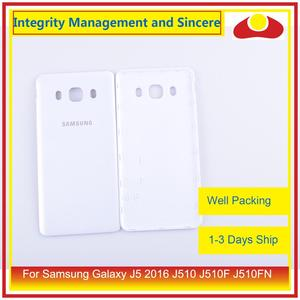 Image 2 - 50 шт./лот для Samsung Galaxy J5 2016 j510 J510F J510FN J510H J510G корпус Батарейная дверь задняя крышка корпус