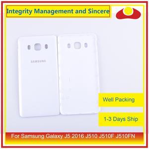 Image 2 - 50 pçs/lote Para Samsung Galaxy J5 2016 J510 J510F J510FN J510H J510G Porta Traseira Da Bateria Habitação Capa Case Chassis Shell